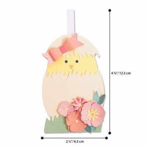 Sizzix Thinlits stanssisetti Hatching Egg