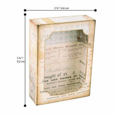 Sizzix Tim Holtz Bigz stanssisetti Curio Box