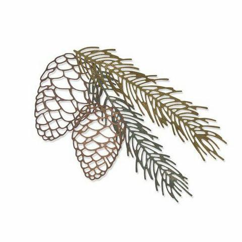 Sizzix Tim Holtz Thinlits stanssisetti Pine Branch