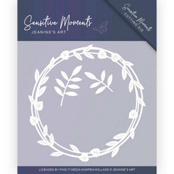 Jeanines Art Sensitive Moments stanssisetti Leaf Circle