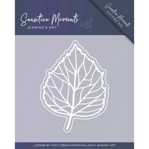 Jeanines Art Sensitive Moments stanssisetti Leaf
