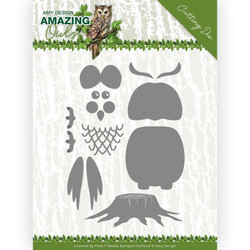 Amy Design Amazing Owls stanssisetti Build Up Owl