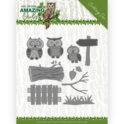 Amy Design Amazing Owls stanssisetti Owl Family