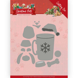 Amy Design Christmas Pets stanssisetti Christmas Dog