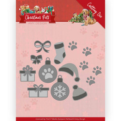 Amy Design Christmas Pets stanssisetti Christmas Decorations