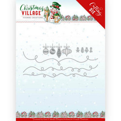Yvonne Creations Christmas Village stanssisetti Christmas Lights