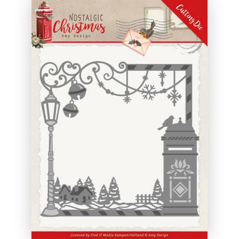 Amy Design Nostalgic Christmas stanssi Christmas Mailbox