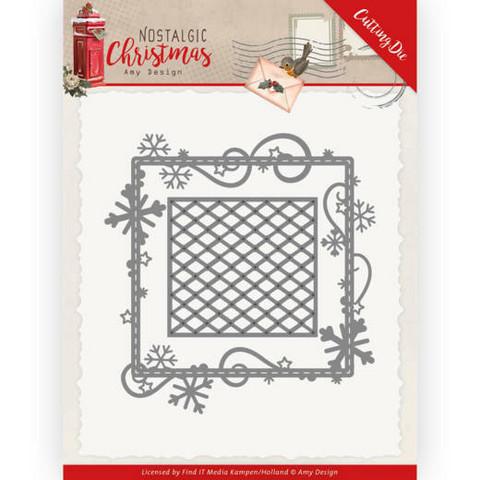 Amy Design Nostalgic Christmas stanssisetti Snowflake Frame
