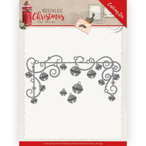 Amy Design Nostalgic Christmas stanssisetti Hanging Christmas Bells