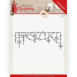 Amy Design Nostalgic Christmas stanssi Hanging Snowflakes