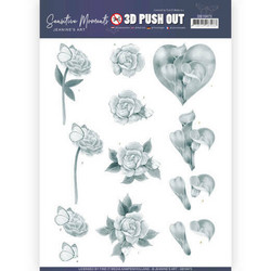 Jeanine's Art Sensitive Moments 3D-kuvat Grey Calla Lily
