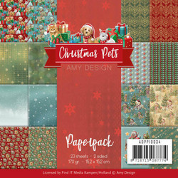 Amy Design paperikko Christmas Pets
