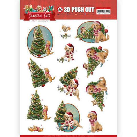 Amy Design Christmas Pets 3D-kuvat Christmas Tree