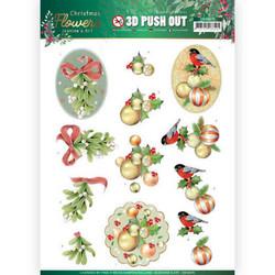 Jeanine's Art Christmas Flowers 3D-kuvat Mistletoe