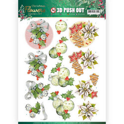 Jeanine's Art Christmas Flowers 3D-kuvat Christmas Bells