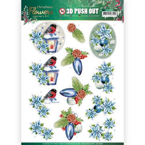 Jeanine's Art Christmas Flowers 3D-kuvat Christmas Lantern