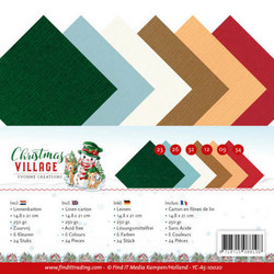 Yvonne Creations Christmas Village kartonkipakkaus, A5