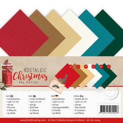 Amy Design Nostalgic Christmas kartonkipakkaus, A5