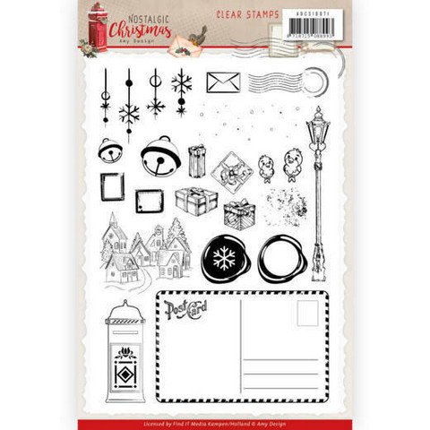 Amy Design leimasinsetti Nostalgic Christmas