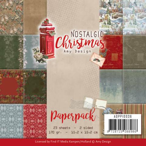 Amy Design paperikko Nostalgic Christmas