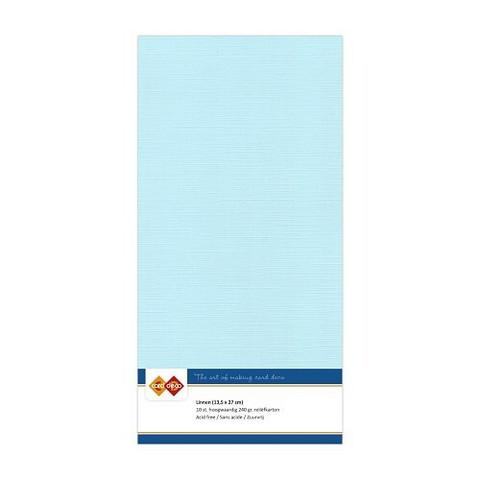 Card Deco kartonkipakkaus, 13.5 x 27 cm, Baby Blue, 10 kpl
