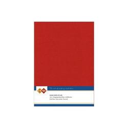 Card Deco kartonkipakkaus, A4, Christmas Red, 10 kpl
