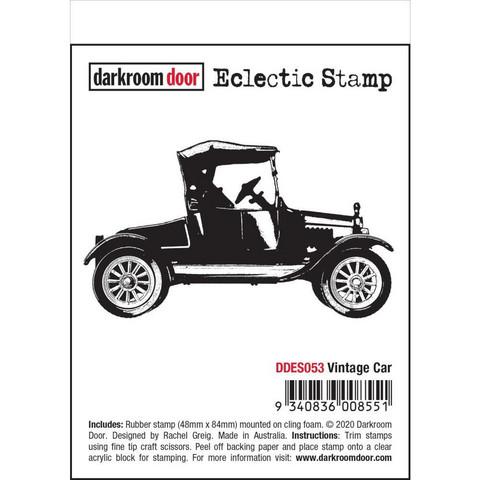 Darkroom Door leimasin Vintage Car