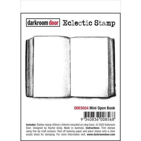 Darkroom Door leimasin Mini Open Book
