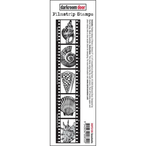 Darkroom Door Filmstrip leimasin Seashells