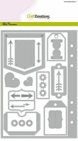 CraftEmotions Planner Essentials -stanssisetti