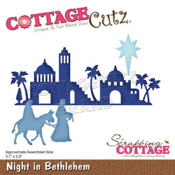 CottageCutz stanssi Night in Betlehem