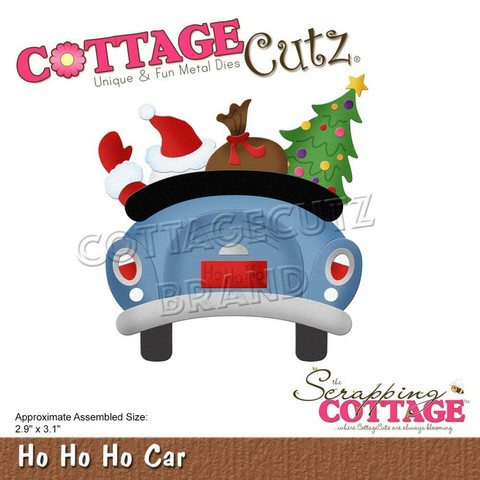 CottageCutz stanssi Ho Ho Ho Car