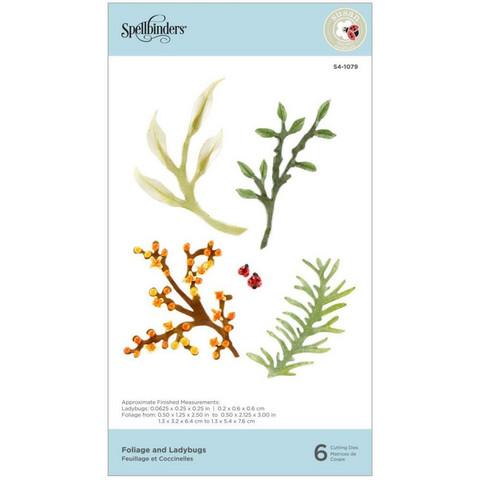 Spellbinders stanssisetti Foliage & Ladybugs