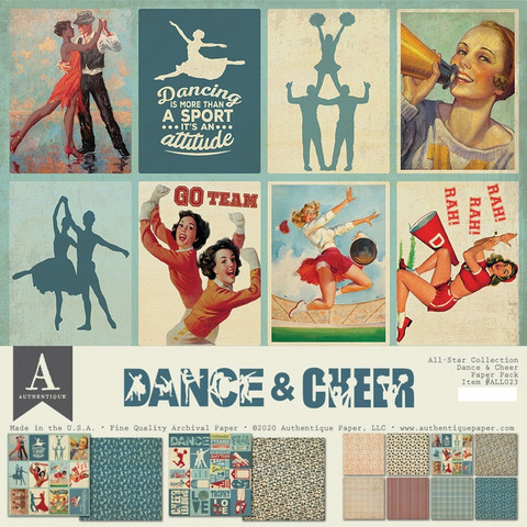 Authentique Collection Kit Dance & Cheer, 12