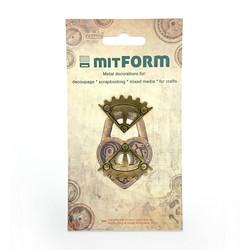 Mitform -metallikoristeet