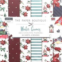 The Paper Boutique paperikko Winter Gnomes
