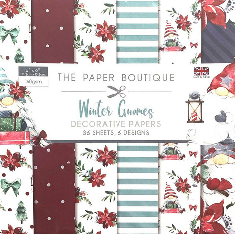 The Paper Boutique paperikko Winter Gnomes