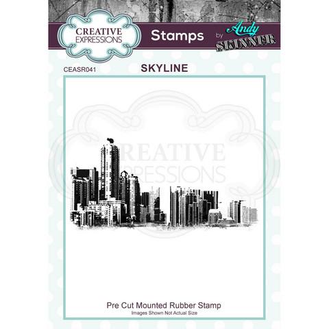 Creative Expressions Andy Skinner Skyline -leimasin