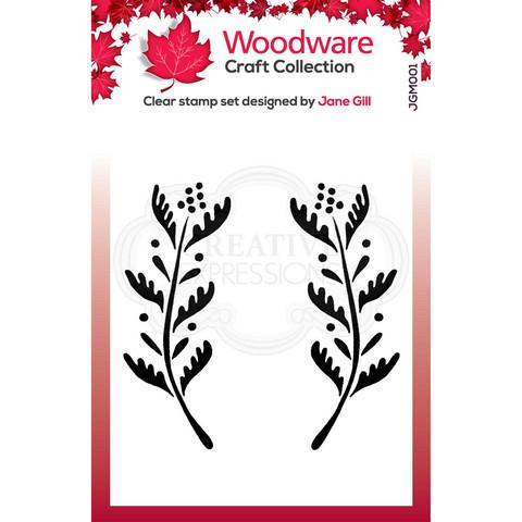 Woodware leimasinsetti Ellie Leaf