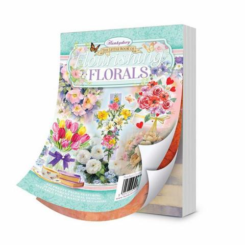 Hunkydory The Little Book of Flourishing Florals -korttikuvat