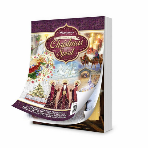 Hunkydory The Little Book of A Life of Christmas Spirit -korttikuvat