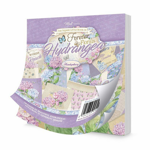 Hunkydory The Square Little Book of Hydrangeas -korttikuvat