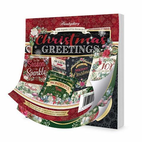 Hunkydory The Square Little Book of Christmas Greetings -korttikuvat