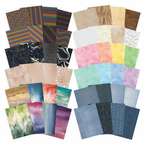 Hunkydory Patterns Pack -kartonkipakkaukset, 6 kpl
