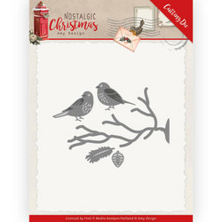 Amy Design Nostalgic Christmas stanssisetti Birds