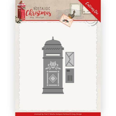 Amy Design Nostalgic Christmas stanssisetti Mailbox
