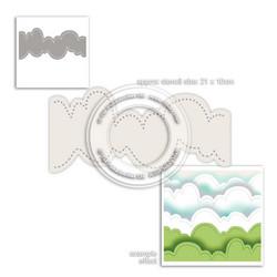 Polkadoodles Cloud Landscape -sapluuna