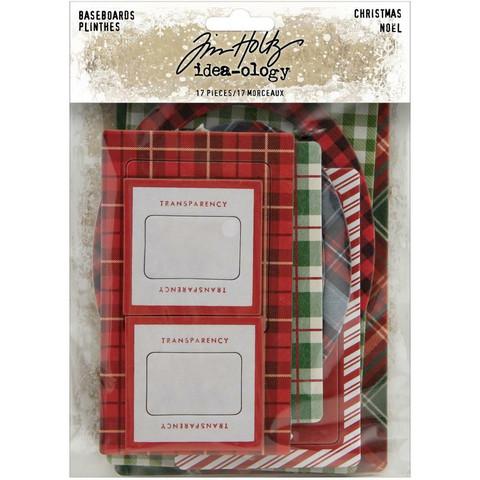 Tim Holtz Idea-Ology Baseboards Christmas