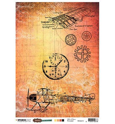 Studio Light riisipaperi Just Lou Aviation Collection 15