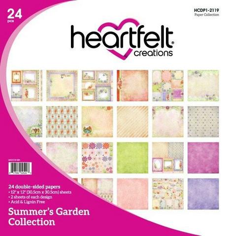 Heartfelt Creations paperipakkaus Summer's Garden
